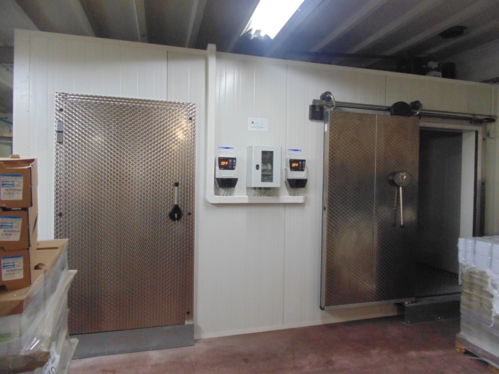 Nowe, ekologiczne komory: chłodnicza i mroźnicza już działają!