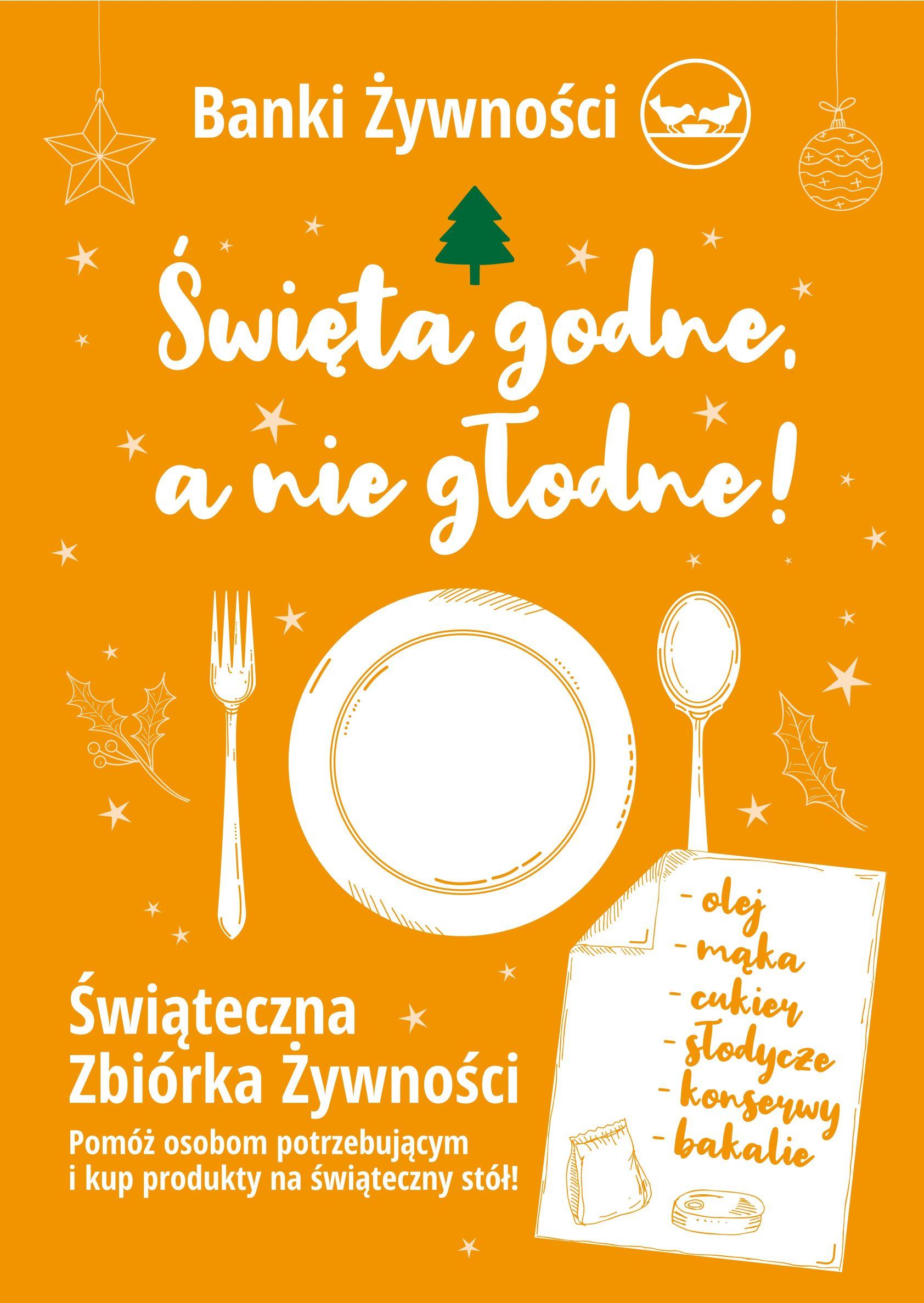 Świąteczna Zbiórka Żywności w dniach 23.11.2020r. – 28.11.2020r.